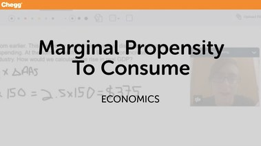 Marginal Propensity To Consume