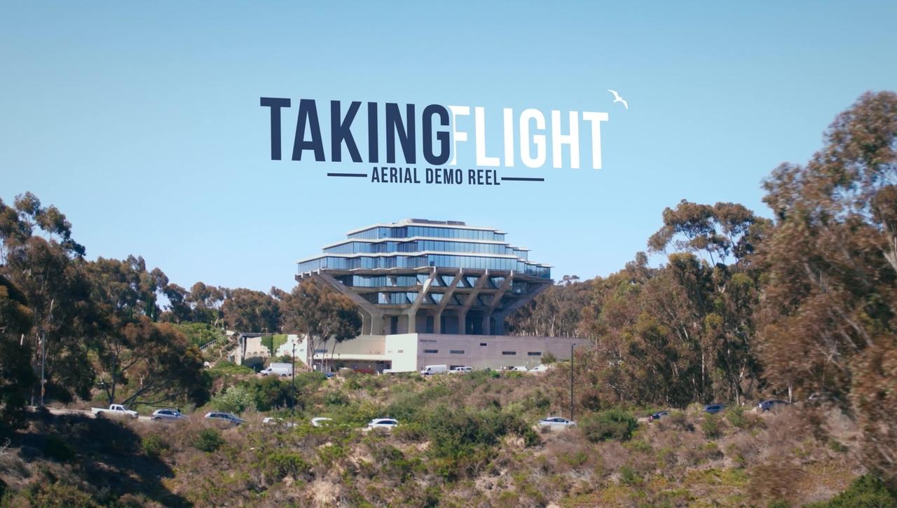 Taking Flight - UC San Diego Aerial Footage