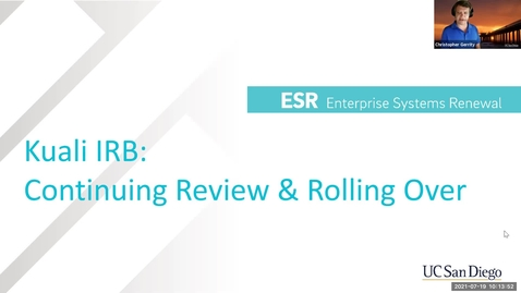 Thumbnail for entry Continuing Review & Rolling Over/Transferring (July 19)