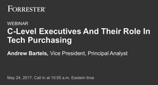 C-Level Executives And Their Role In Tech Purchasing
