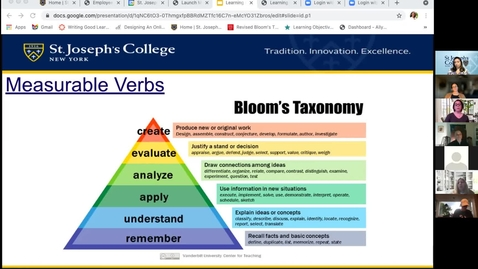 Thumbnail for entry Tech Chat: Writing Measurable Learning Outcomes