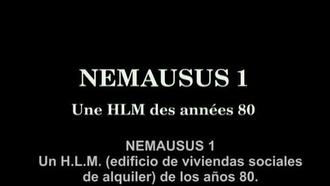 Miniatura para la entrada Nemausus 1. Un HLM des années 80