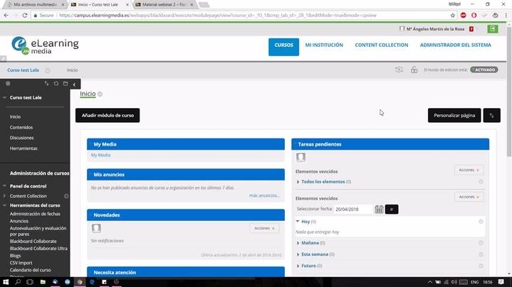 Miniatura del canal Kaltura en Enseñanza Virtual (campus de la US)