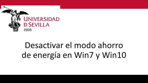 Miniatura para la entrada Desactivar Modo Ahorro Energía Win7 y Win 10