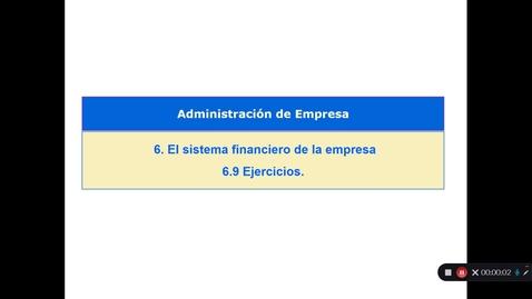 Miniatura para la entrada Tema 6. El sistema financiero de la empresa. 6.9 Ejercicios  (i)