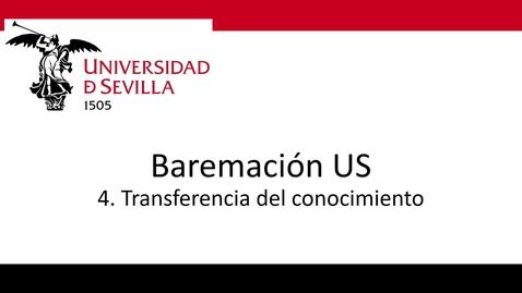 Miniatura para la entrada Bareprof 4 Transferencia del Conocimiento