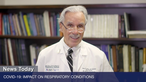 Thumbnail for entry COVID-19: Impact on Respiratory Conditions