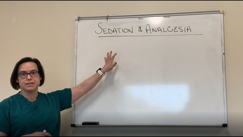 Thumbnail for entry Sedation and Analgesia in the ICU (Ventilated Patients) of  COVID 19