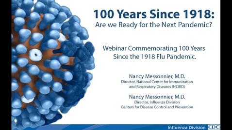 Thumbnail for entry 1918 Pandemic Partner Webinar