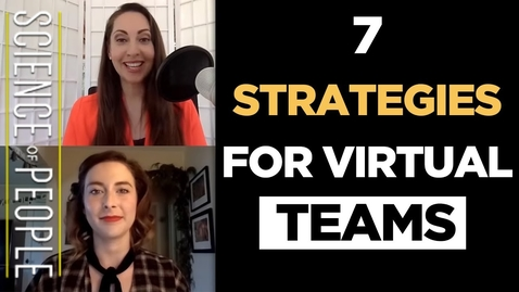 Thumbnail for entry 7 Strategies for Virtual Teams and Remote Workers