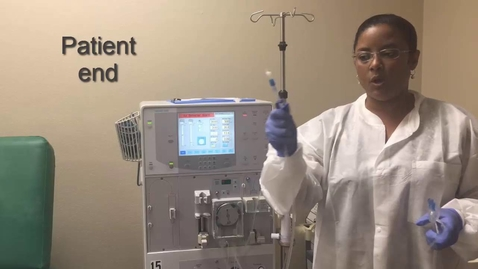 Thumbnail for entry How to set up a Dialysis Machine  part I (Hemodialysis Training)