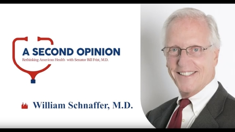 Thumbnail for entry A Second Opinion Podcast:  Infectious Disease Expert Dr. William Schaffner