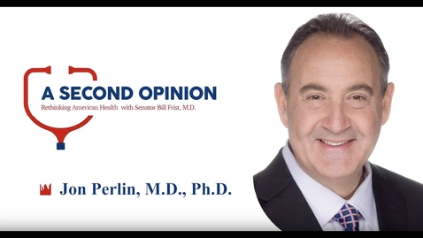 Thumbnail for entry A Second Opinion Podcast: HCA CMO Dr. Jon Perlin
