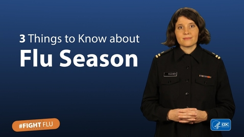 Thumbnail for entry 3 things to know about flu season