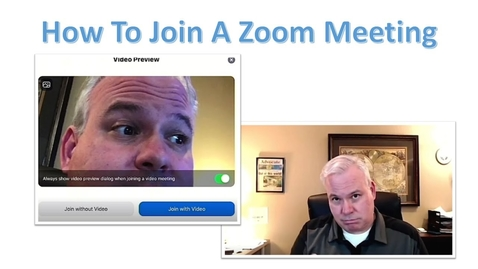 Thumbnail for entry How to Join a Zoom Meeting