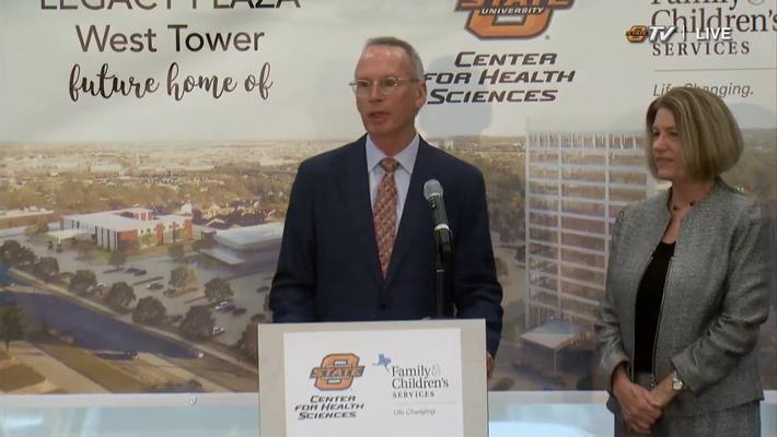 REBROADCAST: Legacy Plaza Gift Announcement