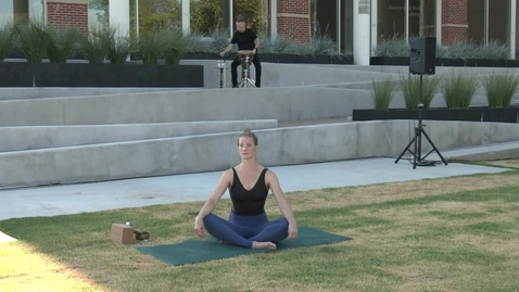 Thumbnail for entry REBROADCAST:  June 18, 2020 Yoga on the Plaza