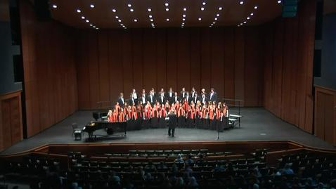 Thumbnail for entry REBROADCAST:  OSU Concert Chorale