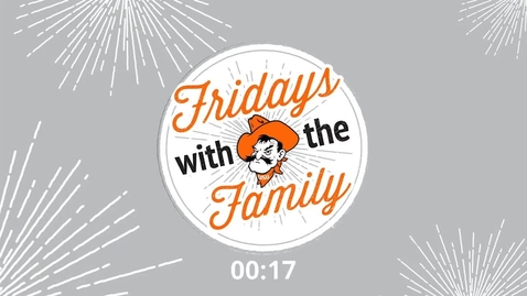 Thumbnail for entry REBROADCAST:  Fridays with the Family with Mr. Orange Power