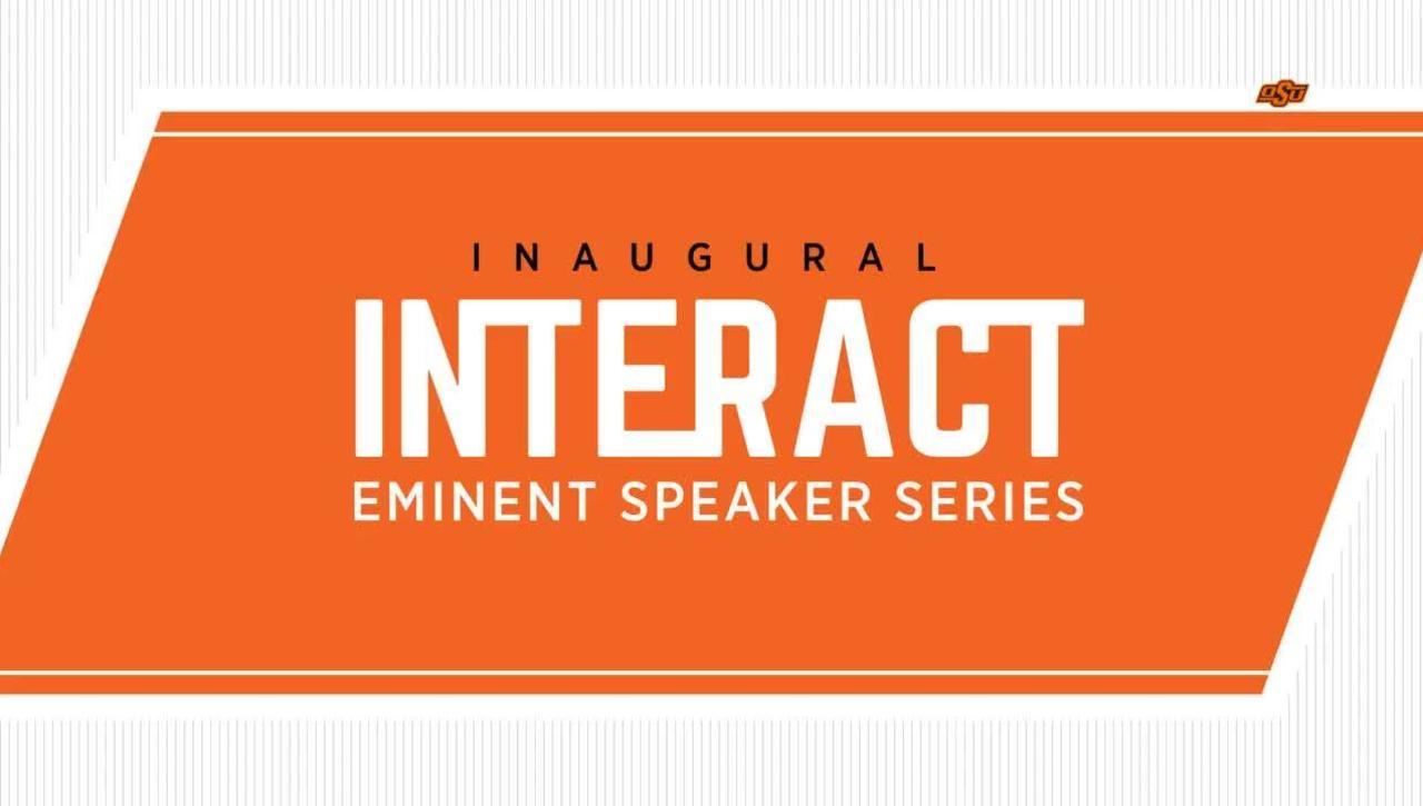 REBROADCAST :   Inaugural INTERACT Eminent Speaker Series