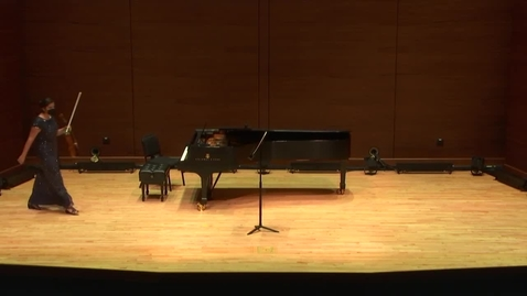Thumbnail for entry Greenwood School of Music: Dr. Jacqueline Skara and Dr. Se-Hee Jin - Faculty Recital