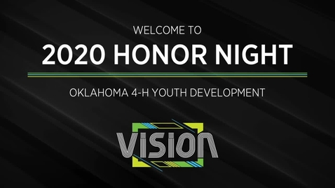 Thumbnail for entry Honor Night Assembly of the Annual Oklahoma State 4-H Roundup