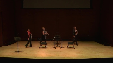 Thumbnail for entry Greenwood School of Music Performance: Faculty Woodwind Recital