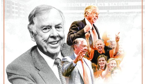 Thumbnail for entry REBROADCAST:  T. Boone Pickens Celebration of Life