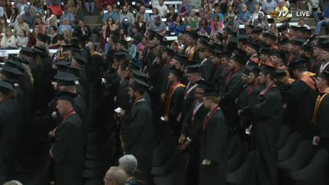 Thumbnail for entry Summer 2018 OSU Institute of Technology Commencement - Afternoon Session