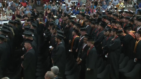Thumbnail for entry Summer 2018 OSU Institute of Technology Commencement:  Afternoon Ceremony