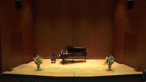 Thumbnail for entry Greenwood School of Music Senior Recital:  Lexi Ferguson