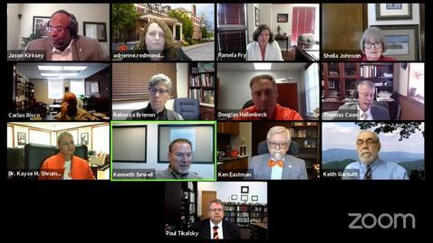 Thumbnail for entry REBROADCAST:  Community Advancing Conversation Virtual Panel