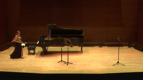 Thumbnail for entry Greenwood School of Music:  Kaitlyn Kennedy Student Recital