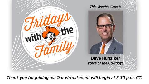 Thumbnail for entry REBROADCAST:  Fridays with the Family with Dave Hunziker
