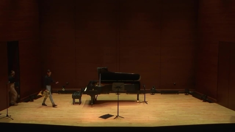 Thumbnail for entry Greenwood School of Music Performance: Connor Neugent Student Recital