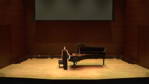 Thumbnail for entry Greenwood School of Music:  Dr. See-Hee Jin Faculty Recital