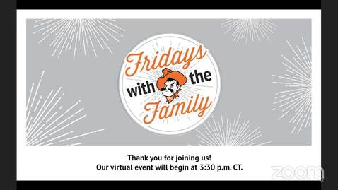 Thumbnail for entry REBROADCAST:  Friday with the Family with Blaire Atkinson and Kyle Wray