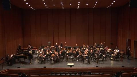 Thumbnail for entry Greenwood School of Music:  OSU Wind Ensemble Concert