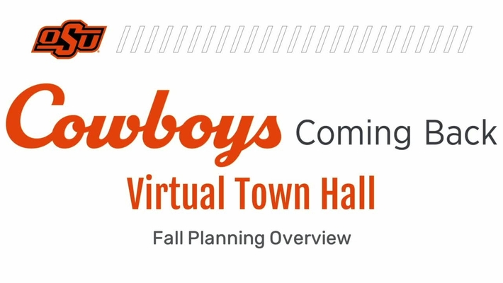 REBROADCAST:  Cowboys Coming Back Virtual Town Hall for Students and Parents