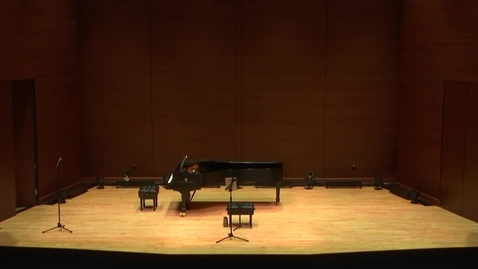 Thumbnail for entry Greenwood School of Music:  Dr. Ryan Robinson Faculty Recital