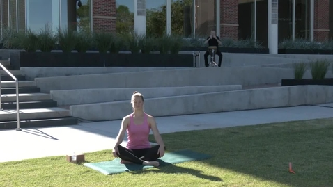 Thumbnail for entry REBROADCAST:  June 11, 2020 Yoga on the Plaza