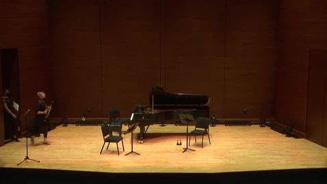 Thumbnail for entry Greenwood School of Music: Faculty Chamber Concert
