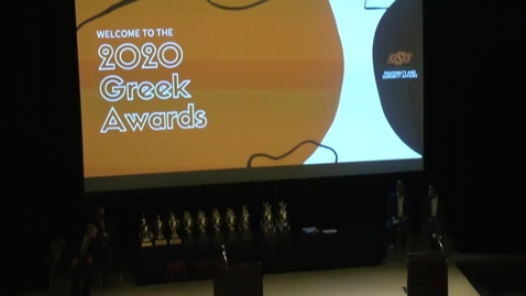 Thumbnail for entry 2021 Greek Awards Ceremony