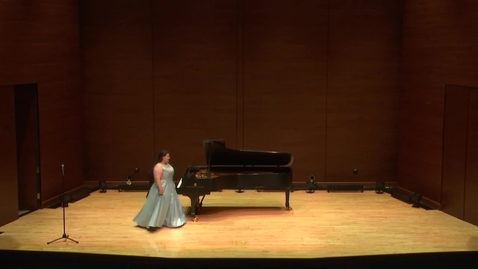 Thumbnail for entry Greenwood School of Music Student Recital--Katie Nichols