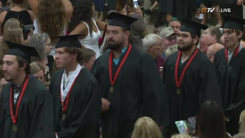 Thumbnail for entry Summer 2018 OSU Institute of Technology Commencement:  Evening Ceremony