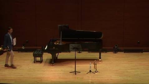 Thumbnail for entry Greenwood School of Music Performances: Ryan Lancaster Student Recital