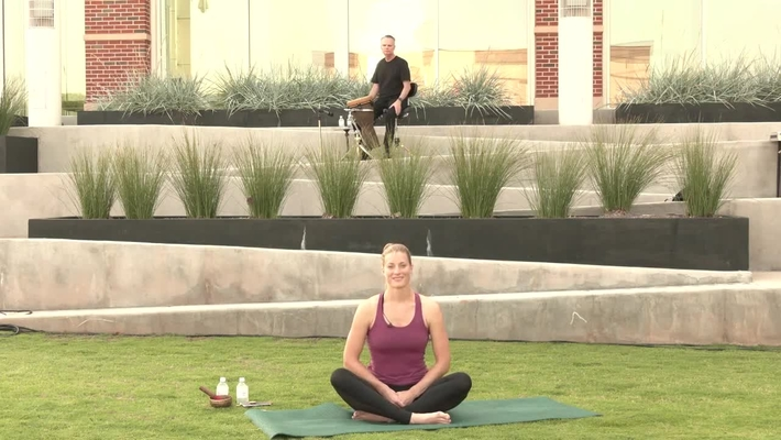 REBROADCAST:  July 2, 2020 Yoga on the Plaza