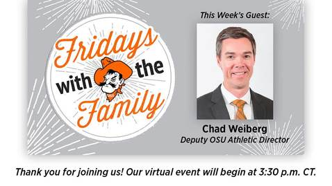 Thumbnail for entry REBROADCAST : Fridays with the Family with Chad Weiberg