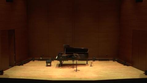 Thumbnail for entry Greenwood School of Music:  Brian Walker Trumpet Guest Artist Recital