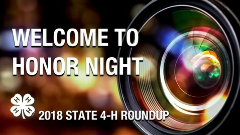 Thumbnail for entry REBROADCAST:  2018 Oklahoma 4-H Roundup Honor Night Assembly